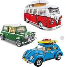 Bela lepinblock blocos de técnica série o mini cooper 1108 pçs conjunto blocos de construção brinquedos para crianças criadores carro crianças presentes brinquedos
