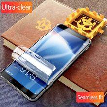 Ultra-claro transparente fim traseiro para oneplus 6t protetor de tela para oneplus 6t 7t à prova de explosão filme traseiro
