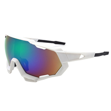Okulary rowerowe UV400 MTB spolaryzowane sportowe okulary kolarskie gogle rowerowe górskie okulary rowerowe mężczyźni kobiety okulary rowerowe tanie tanio minimizes the damaging effects of UV light 60mm Cycling sunglasses Black 77mm Poliwęglan Unisex Jazda na rowerze Motorcycle Sunglasses