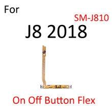Switch Power ON OFF Button Flex Cable Ribbon For Samsung Galaxy J8 J6 J4 J7 J5 J3 A9 2018 2017 Mute Silence Volume Key