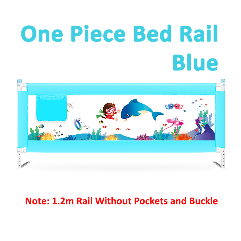 63 to 83 cm Height Adjustable Kid Bed Guard with Foldable Railing Sleep for Baby Safety from Falling from Bed 14