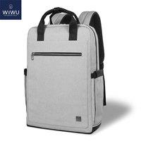 Wiwu 학교 배낭 여성 남성 노트북 배낭 15.6 인치 방수 여행 배낭 노트북 가방 맥북 프로 16 인치