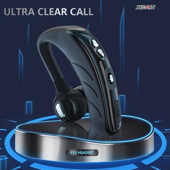 P13 HD mikrofon bezprzewodowy zestaw słuchawkowy zgodny z Bluetooth inteligentna redukcja szumów aktualizacja V5 1 układ kompatybilny z Bluetooth tanie i dobre opinie Faichoy Zaczepiane na uchu Rohs Dynamiczny CN (pochodzenie) wireless 125dB 30mW Do kafejki internetowej Słuchawki do monitora