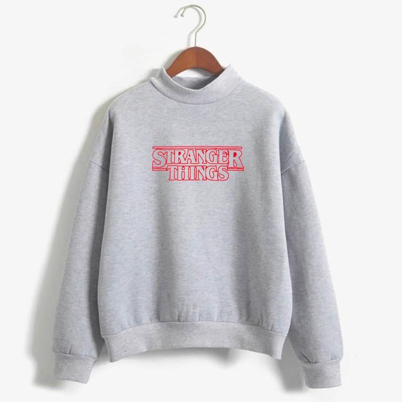 Stranger Things Official Television Series Men's Solid Logo Sweatshirt  Unisex STRANGER THINGS Hoodie - Stranger Things 18