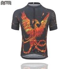 2019 NEW Summer mens cycling Jersey flaming Phenix Cycling Clothing team MTB / road Bicycle Clothes bike wear 3 pockets behind