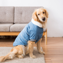 Hipidog New Arrival Big Dog Winter Clothes Denim Jacket Large Dogs Clothing