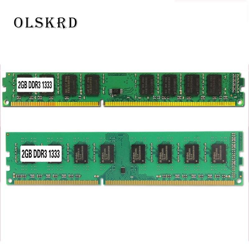 Olskrd pc desktop do computador, do módulo de memória ram memória ddr2 1gb 2gb pc2 pc3 4gb ddr3 8gb 667mhz 800mhz 1333mhz 1600mhz 8gb 1600|RAM|   - AliExpress