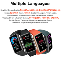 In stock  Huawei Band 6 Smartband Blood Oxygen 1.47'' inch Screen Heart Rate Tracker Sleep monitoring band 6 CODE:EOSSAFF7 50-7$ 2