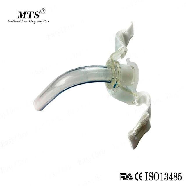 Medicina sem algemas descartável traqueostomia tubo anestesia produtos esterilizados 10 pçs/lote