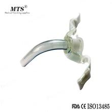 Tubo de traqueostomía desechable, productos de anestesia no esposados, esterilizados, 10 unids/lote
