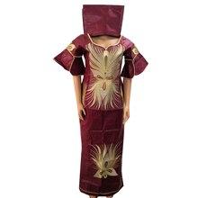 MD африканская одежда для женщин топы и юбки костюм вышивка африканские юбки нигерийский головной галстук Свадебные Короткие Рэппер одежда