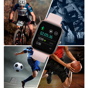 Image 5 - LYKRY 2020 akıllı saat P8 erkekler kadınlar 1.4 inç tam dokunmatik ekran spor izci nabız monitörü IP67 su geçirmez GTS spor bandı