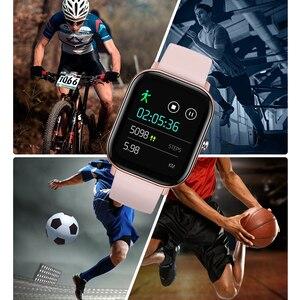 Image 5 - Lykry 2020 スマート腕時計P8 男性女性 1.4 インチフルタッチトラッカー心拍数モニターIP67 防水gtsスポーツバンド