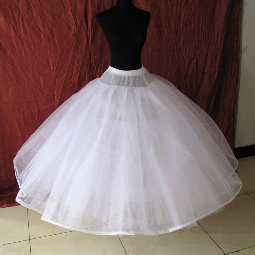 Adult Women Ball Gown Girls Petticoat Crinoline Birdcage Cosplay Underskirt 6/8 Layers Tulle Skirt For Wedding Vestido De Noiva
