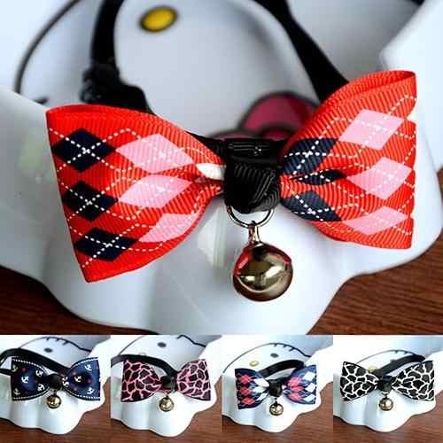 新アジャスタブル子犬子猫犬猫ペットの蝶ネクタイ安全ベルネクタイの襟 2020