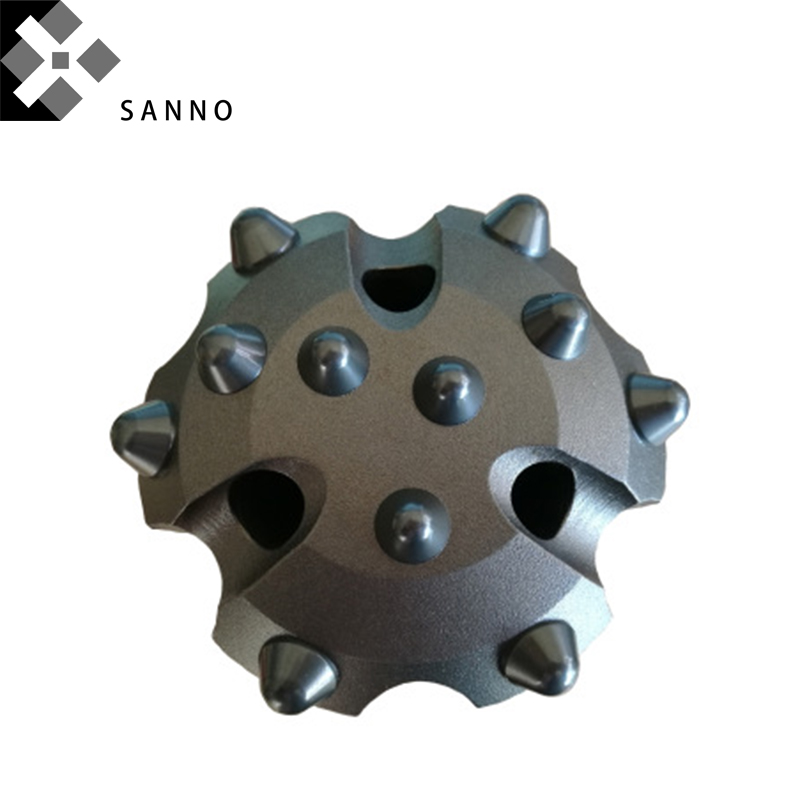 CIR76 90 100 110 120 130 140 150 Low Air Pressure DTH Mining Hammer Drill Bits With Button Core Drill Bit For Hard Rock And Well