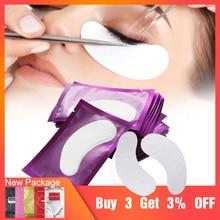 200 pairs Eyelash Extension Paper Patches Set Eye Lashes Stickers Eyelash Under Eye Patch Pads Tips Sticker Wraps Makeup Tools