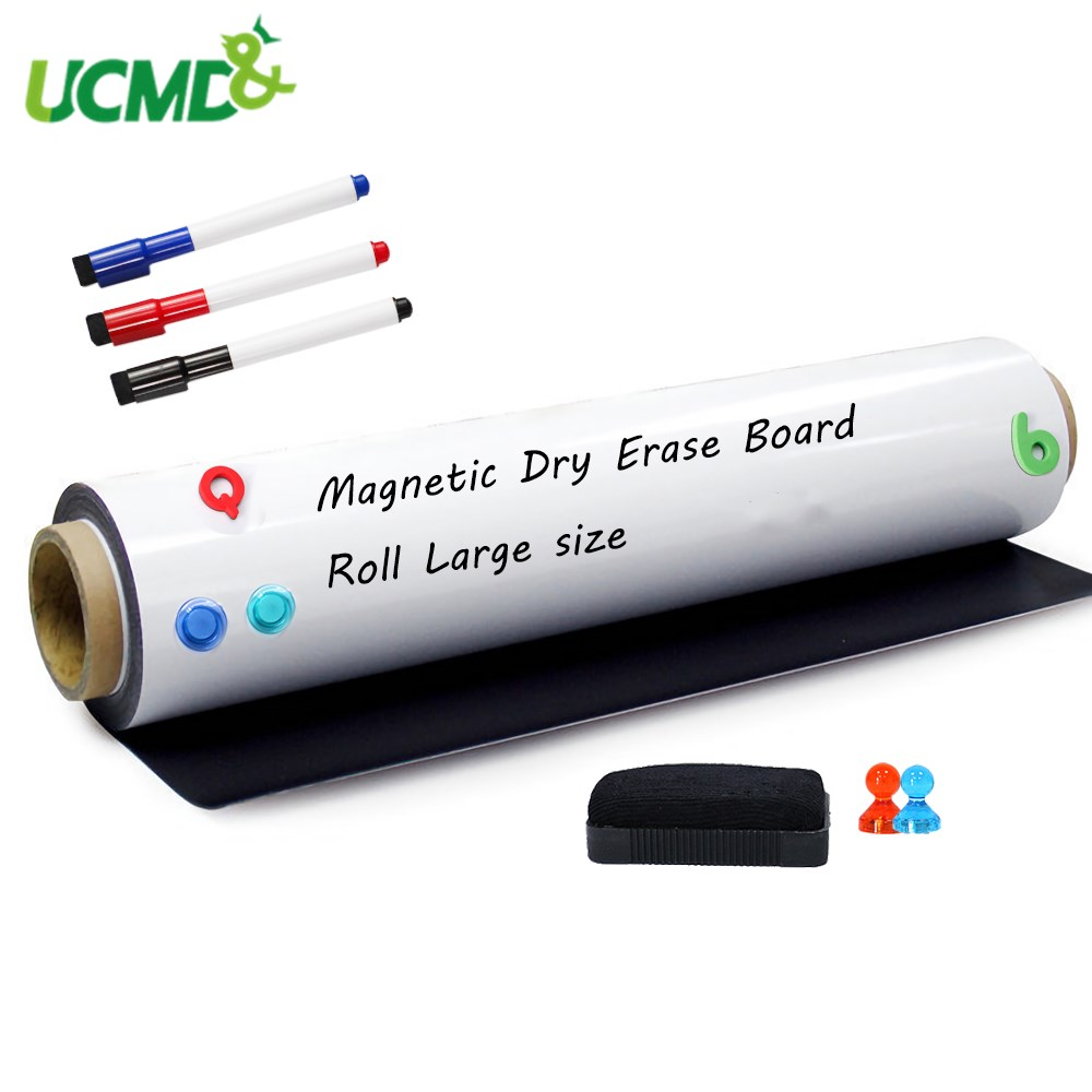 Magnetic Board Writing Board Whiteboard Soft Iron Wall Sticker Flexible Erasable Drawing Board Office Marker Stickers For Wall