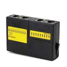 Professional Super Mini Network LAN Cable Wire Cat5 RJ11 RJ45 Tester New
