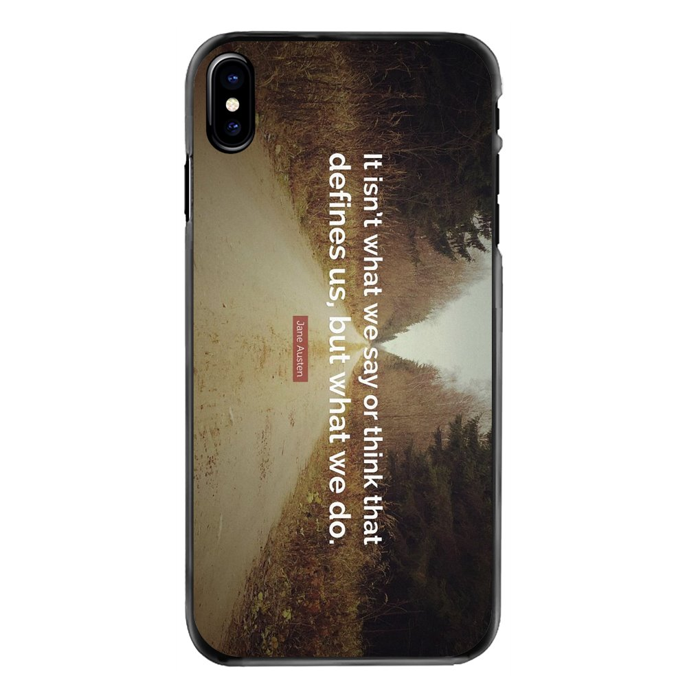 It isn't what we say or think that defines Mobile Phone Cover For Samsung Galaxy A3 A5 A7 A8 J1 J2 J3 J5 J7 Prime 2015 2016 2017