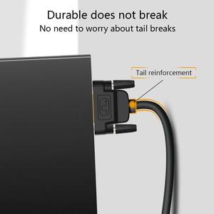 Image 5 - גבוהה מהירות DVI כבל DVI כדי DVI D 24 + 1 תקע מצופה זהב זכר לזכר 1M 1.8M 2M 3M עבור LCD DVD HDTV XBOX מקרן משלוח חינם