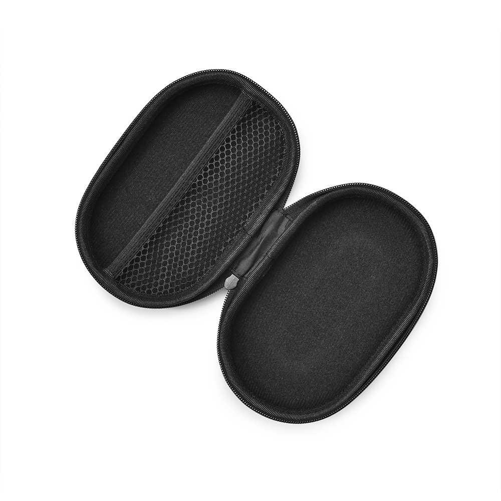 Dla JBL TUNE 205BT/UA FLash TWS Bluetooth słuchawka nylonowa torba przewód słuchawkowy słuchawki douszne twarda obudowa torba z wewnętrzną siateczkowa kieszeń