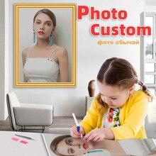 Diy 5D写真カスタム自身のダイヤモンド塗装キットフルクリスタルダイヤモンド刺繍モザイクアート絵の誕生日のギフト結婚式の装飾