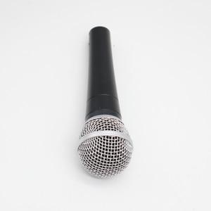 Image 3 - Yüksek kalite versiyonu SM58 profesyonel kardioid dinamik el Karaoke sm 58 kablolu mikrofon mikrofon Microfono Mike Mic