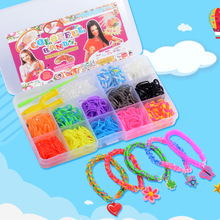 Rubber-Band Bracelet Loom Rainbow-Loom-Bands Handcraft DIY for Friends Gifts Birthday-Party