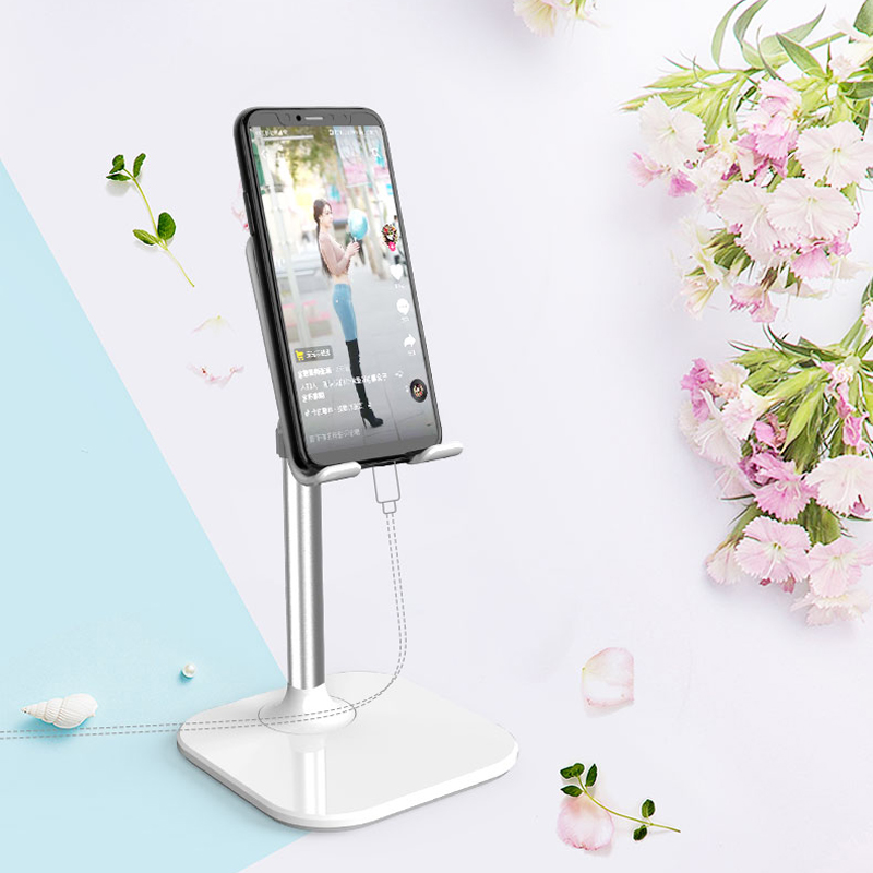 Universal Adjustable Desktop Phone Holder For IPhone Samsung Xiaomi Mobile Phone Holder Stand For IPad Tablet Desk Holder