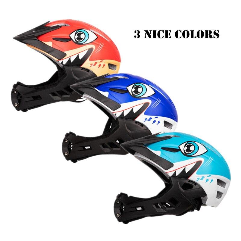 Kids Carbon Bicycle Cycling MTB Skate Helmet Spots Skating Mountain Bike Helmet