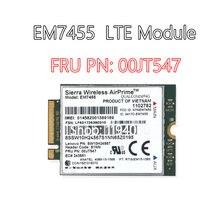 Placas de Rede para Lenovo ThinkPad WWAN X1 Carbono EM7455 4G LTE Módulo 00JT547 4G Cartão