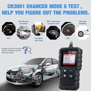 Image 4 - Lansmanı obd2 tarayıcı X431 CR3001 otomotiv profesyonel teşhis aracı obd 2 motor kod okuyucu tarama aracı arabalar için pk ELM327