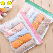 30*30CM Muslin Organic cotton Baby Towels Scarf Swaddle bath Towel Newborns Handkerchief Bathing Feeding Face Washcloth Wipe(China)