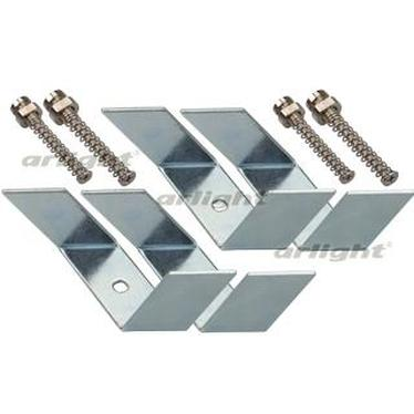 019351 Holder SL-LINIA62-F [Metal] Package-set. ARLIGHT-LED Profile Led Strip/ARLIGHT S-LUX/Holders ^ 02