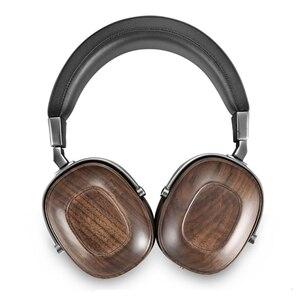 Image 3 - B8 casque HIFI stéréo dynamique en bois écouteur sur loreille DJ surveillance casque Studio Audio suppression du bruit bon casque