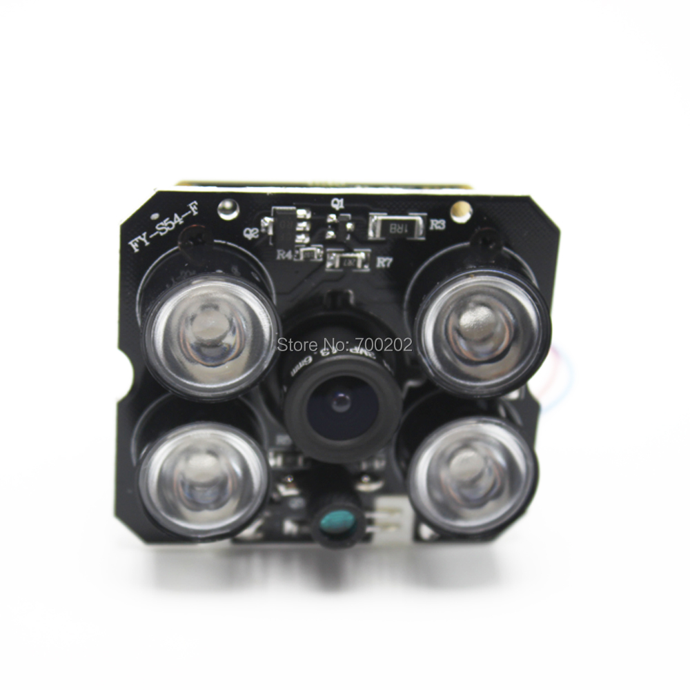 HD 4MP 1080P 2MP HD Security IP Network Camera Module Board With Night Vision And Lens 2.8mm