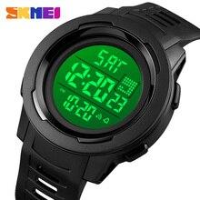 SKMEI Japan Electronic Movement Men Watches Sport Wristwatch Male 5Bar Waterproof Stopwatch LED Digital Clock Relogio Masculino