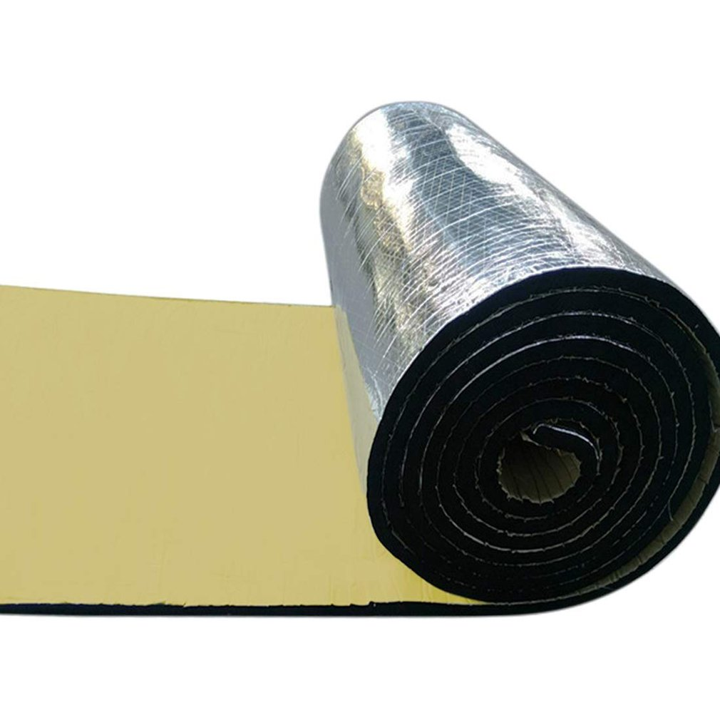 Car Truck Firewall Heat Sound Deadener Insulation Mat Noise Insulation Wool Car Heat Sound Thermal Proofing Pad