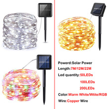 led solar string lights…