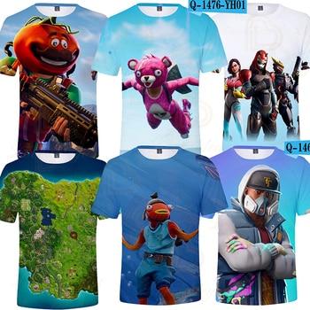 Battle Royale Kids T-shirt 3D Print Kids Tshirt Tops Boys Girls Cartoon Short Sleeve Shirt Tee Children Clothes Tops Tee girls banana print tee