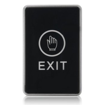 Push Touch Sensor Exit Button Security Access Control System Door Exit Release Button With LED Indicator Light for Home ir no touch door exit for access control system
