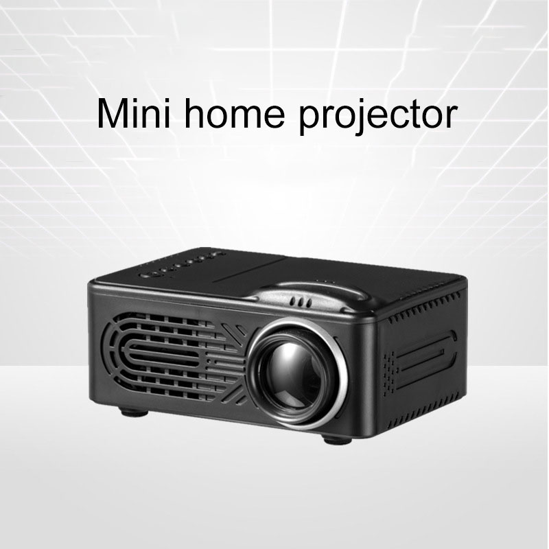 New Style 814 Mini Projector For Home Use LED Portable Micro Projector Support 1080 P High-definition Projection