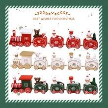 Детские игрушки поезд Санта медведь детская игрушка рождественский