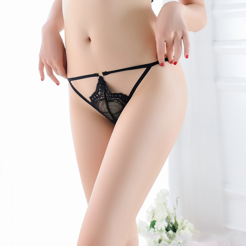 7color Gift beautiful lace leaves Women's Sexy lingerie Thongs G-string Underwear Panties Briefs Ladies T-back 1pcs/Lot js8027