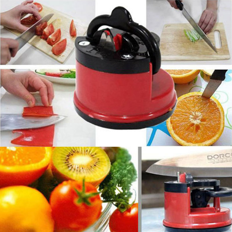 Knife Sharpener Tungsten Steel Knife Sharpener Suction Pad Design Full Body  Polished Excellent Quality Kitchen Sharpening Tool|Sharpeners| - AliExpress
