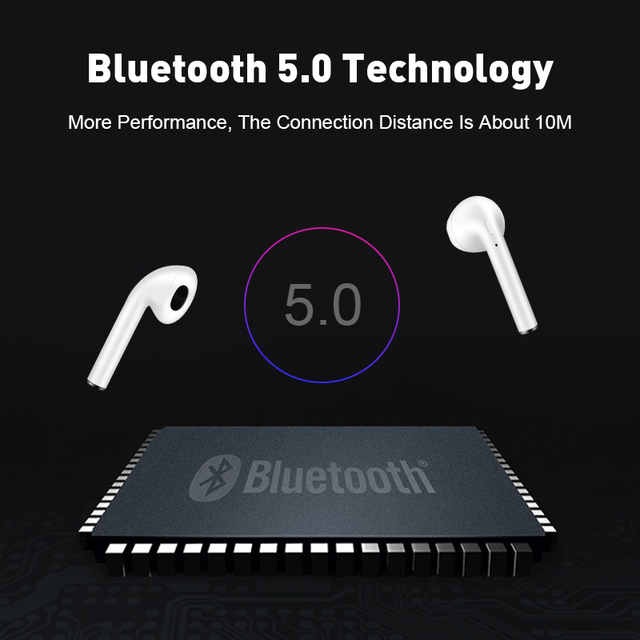 Original Touch Control Wireless Headphones Bluetooth 5.0 Earphones  Mini Headset i9S TWS With Mic earbuds 4