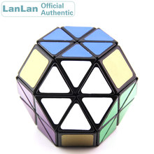 LanLan 8 Axis Octahedron Hydrangea Skewbed Magic Cube Diamond Speed Puzzle Antistress Fidget Educational Toys For Children