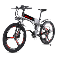 Bicicleta elétrica ebike elétrica mountain bike bicicleta elétrica 26 polegada ebike 48v350w elétrica mountain bike a ebike|Bicicleta elétrica| |  -