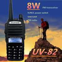 Baofeng UV-82 8W CB Radio Walkie Talkie 10km VHF UHF Transceiver Two Way Radio Station Scanning UV82 Handheld Ham Radio Amateur